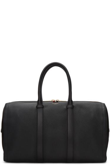 Thom Browne - Black Unstructured Holdall Bag