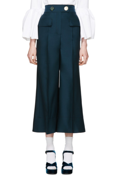Roksanda - Green Hasani Trousers