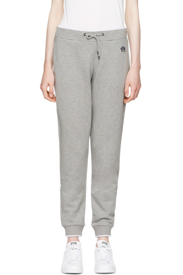 Kenzo - Grey Tiger Crest Track Pants