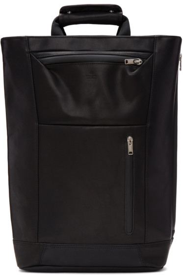 Master-Piece Co - Black Tote Backpack