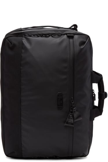 Master-Piece Co - Black Nylon Slick Three-Way Briefcase