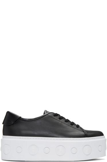 Versus - Black Lion Platform Sneakers