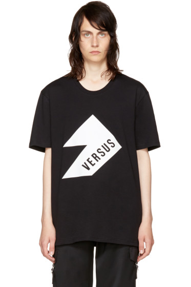 Versus - Black Logo T-Shirt