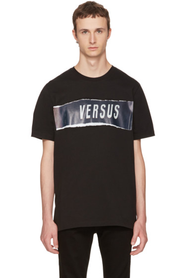 Versus - Black Zayn Edition Logo T-Shirt
