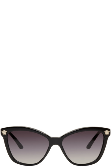 Versace - Black Rock Icons Medusa Cat-Eye Sunglasses