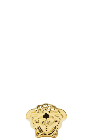 Versace - Gold Large Medusa Ring
