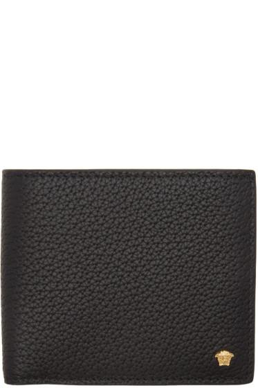 Versace - Black Small Medusa Bifold Wallet