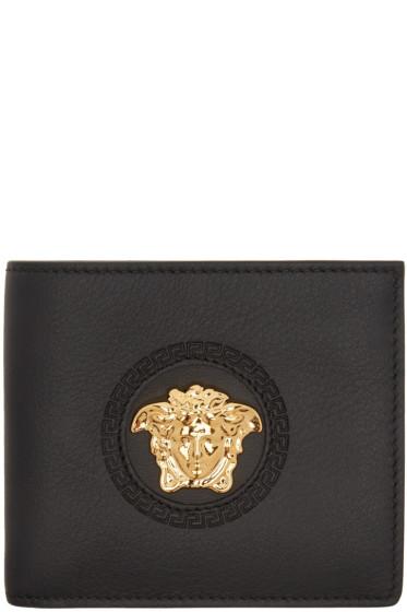 Versace - Black Palazzo Medusa Bifold Wallet