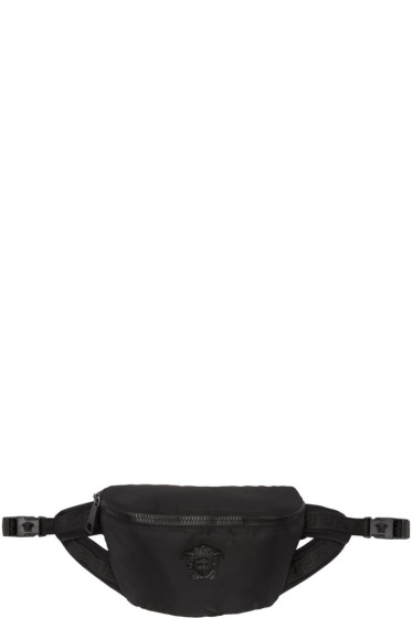 Versace - Black Nylon Medusa Waist Bag