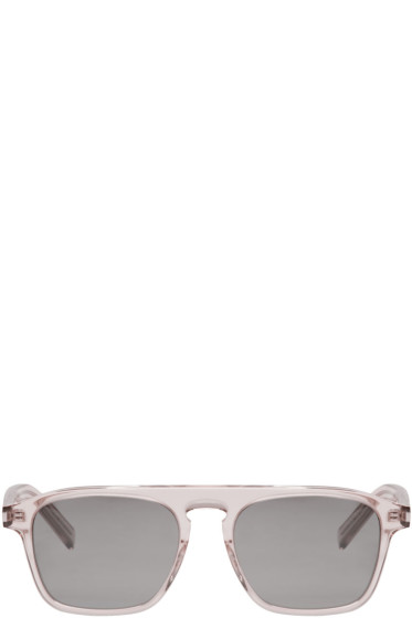 Saint Laurent - Transparent SL 158 Sunglasses