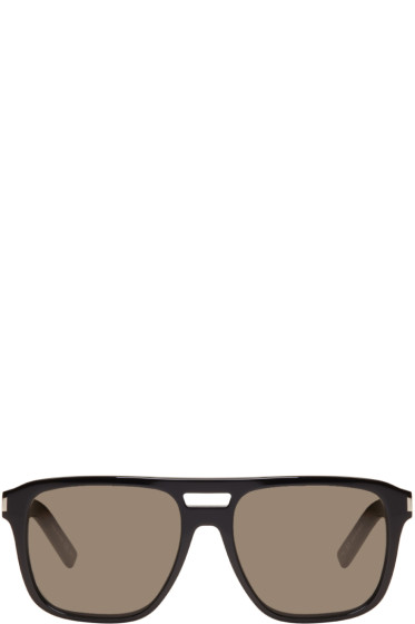 Saint Laurent - Black SL 87 Sunglasses