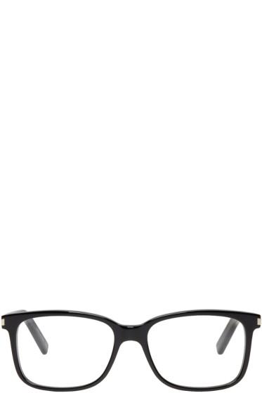 Saint Laurent - Black SL 89 Rectangular Glasses