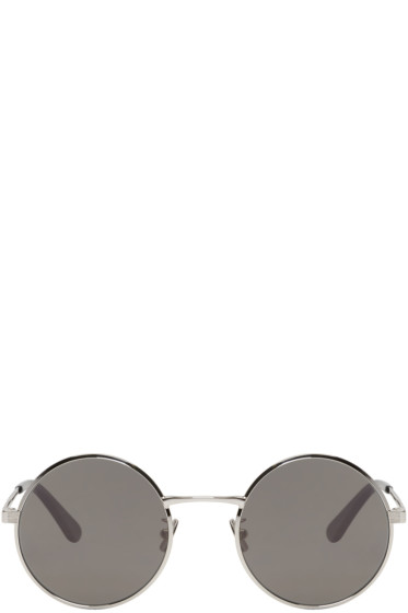 Saint Laurent - Silver SL 136 Zero Sunglasses