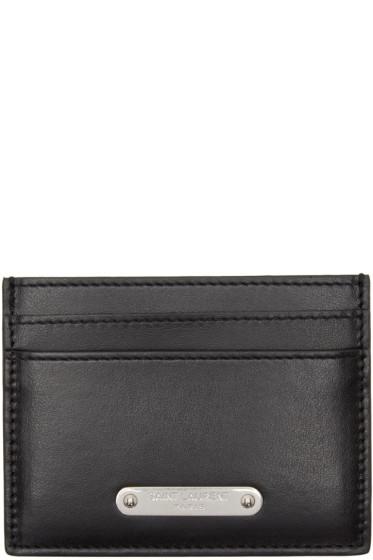 Saint Laurent - Black ID Card Holder