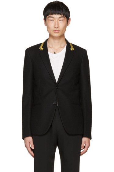 Saint Laurent - Black Military Blazer