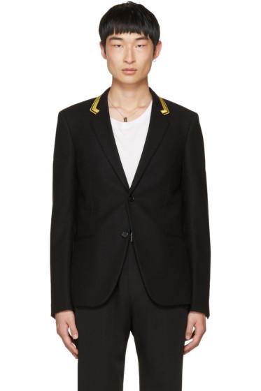 Saint Laurent - Black Military Blazer