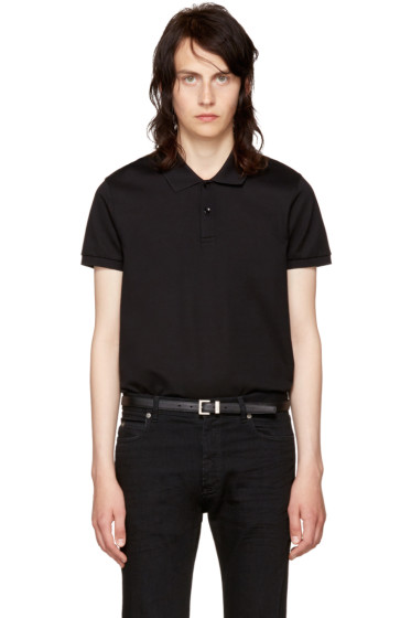 Saint Laurent - Black Classic Polo