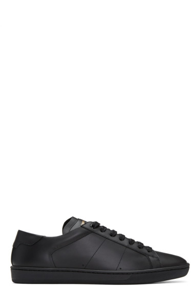 Saint Laurent - Black SL/01 Court Classic Sneakers