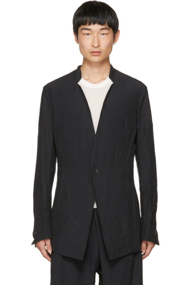 Julius - Grey Inverted Lapel Blazer