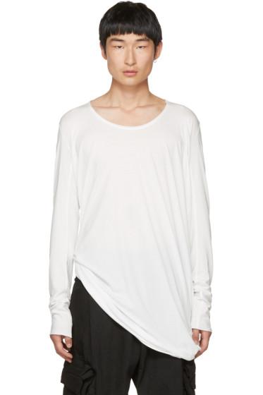 Julius - White Cut & Sewn T-Shirt