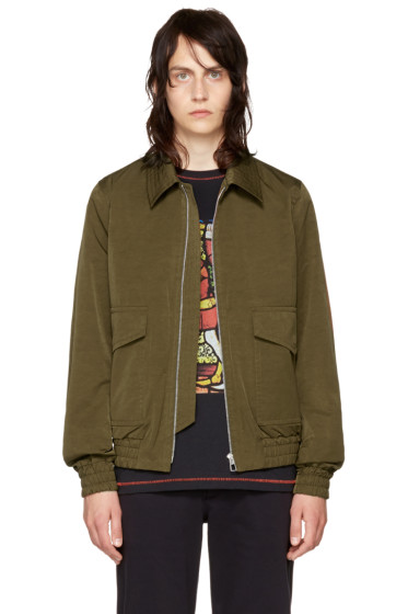 PS by Paul Smith - Khaki Flight Jacket