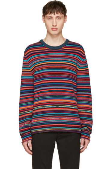 PS by Paul Smith - Multicolor Striped Sweater