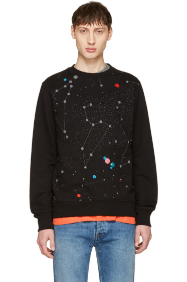 PS by Paul Smith - Black Milky Way Sweatshirt