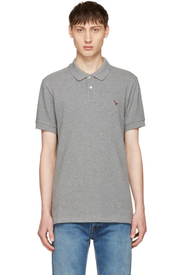 PS by Paul Smith - Grey Zebra Polo