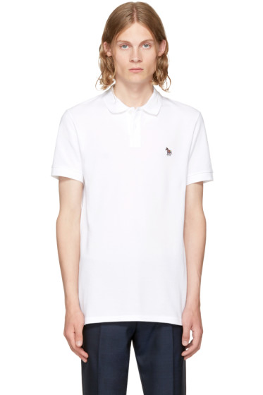 PS by Paul Smith - White Zebra Polo
