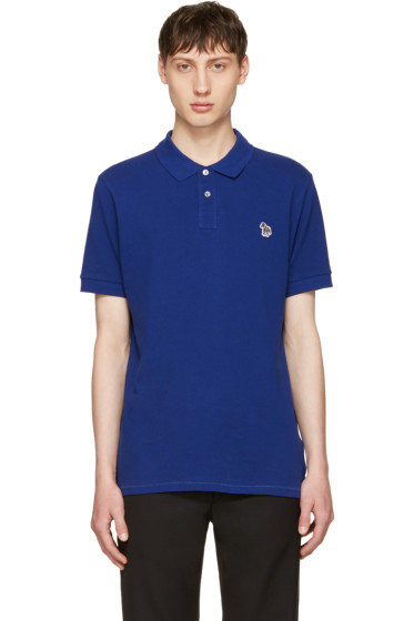 PS by Paul Smith - Indigo Zebra Polo