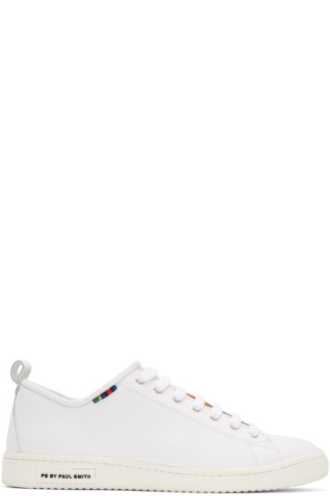 PS by Paul Smith - White Miyata Sneakers