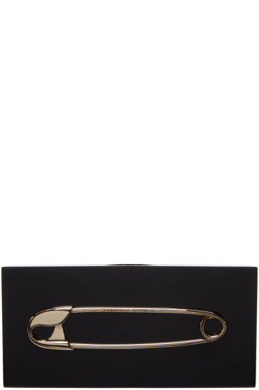 Charlotte Olympia - Black Punk Penelope Clutch