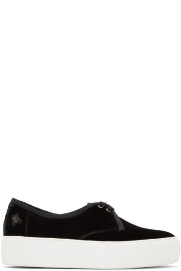 Charlotte Olympia - Black Portobello Platform Sneakers