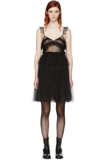 MSGM - Black Tulle Dress