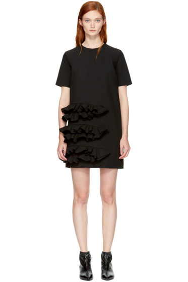 MSGM - Black Ruffle Dress