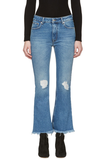 MSGM - Blue Flared Jeans