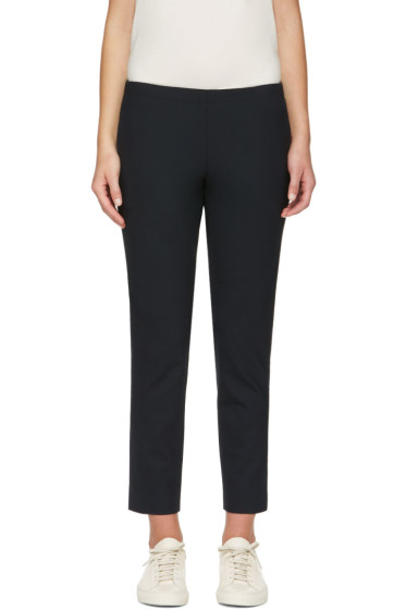 6397 - Navy Pull On Trousers