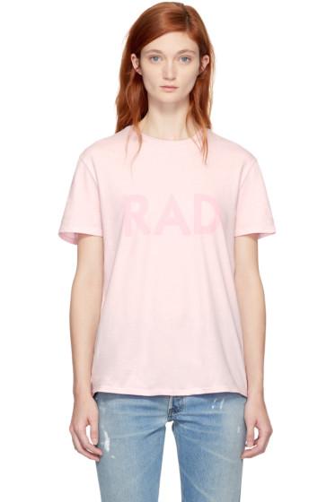 6397 - Pink 'Rad' T-Shirt