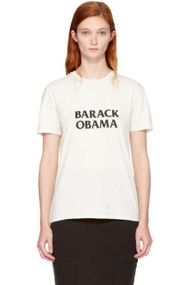 6397 - White 'Barack Obama' T-Shirt