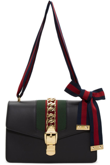 Gucci - Black Small Sylvie Bag