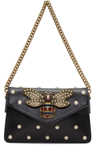 Gucci - Black Broadway Clutch Bag