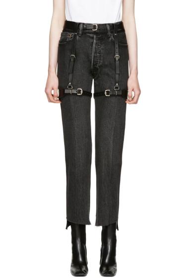Fleet Ilya - Black Suspender Garter Harness