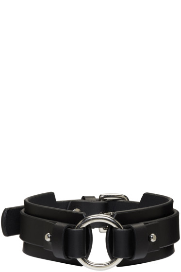 Fleet Ilya - Black Chunky O Ring Collar