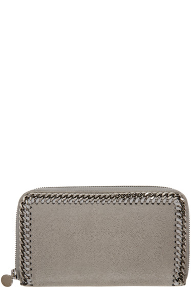 Stella McCartney - Grey Falabella Continental Zip Wallet
