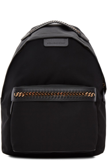 Stella McCartney - Black Falabella GO Backpack