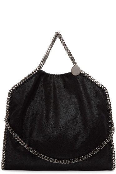 Stella McCartney - Black Falabella Fold Over Tote