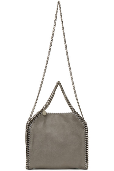Stella McCartney - Grey Mini Falabella Tote