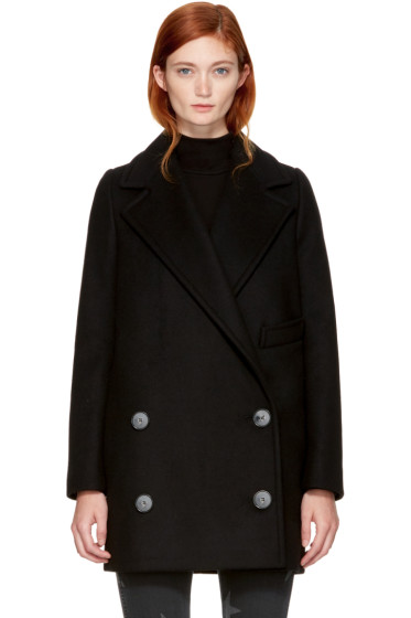 Stella McCartney - Black Edith Coat