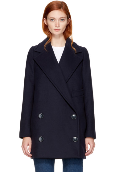 Stella McCartney - Navy Edith Coat