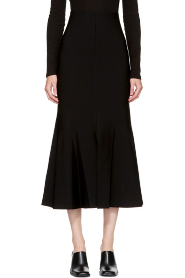 Stella McCartney - Black Flare Skirt